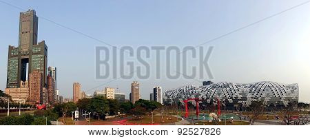 Kaohsiung Exhibition Center And Tuntex Tower