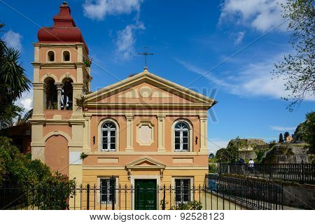 Building At Old Town,corfu,greece