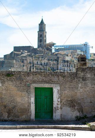 Matera, The Green Gate
