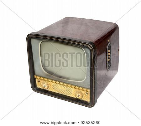 Old Television, Top View