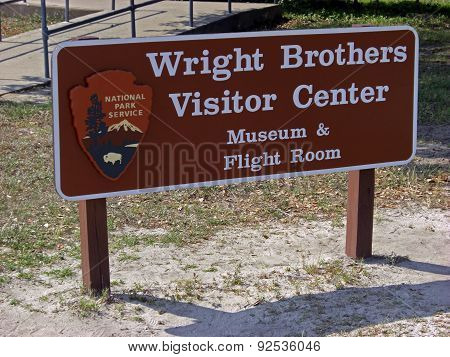 Kill Devil Hills, USA - June 7, 2008: Wright Brothers National Memorial located in Kill Devil Hills (North Carolina) that commemorates the first successful powered flights