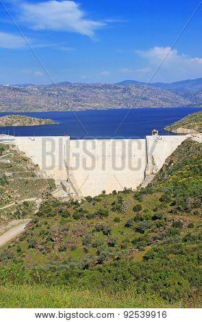 Modern Dam In Turkey