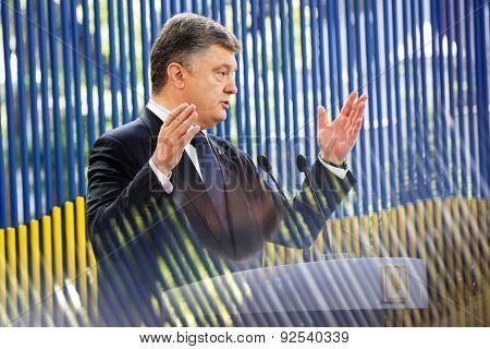 Press Conference Of The President Of Ukraine Petro Poroshenko