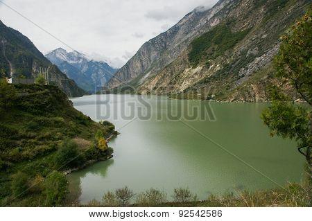 Sichuan, China Lake (Haizi)