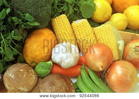 Fruits and Vegetables and other Foodstuffs