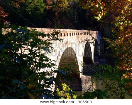 Highway Bridge Over Cumberland River