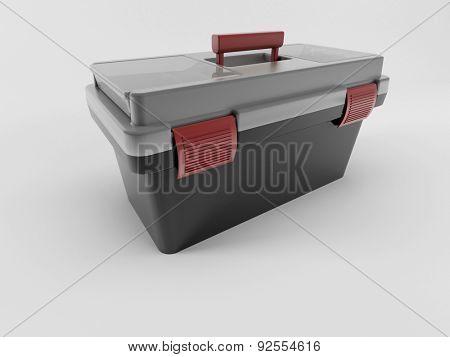 3D Render of a Toolbox