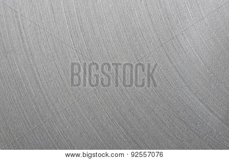 Brushed steel plate texture with reflections blur