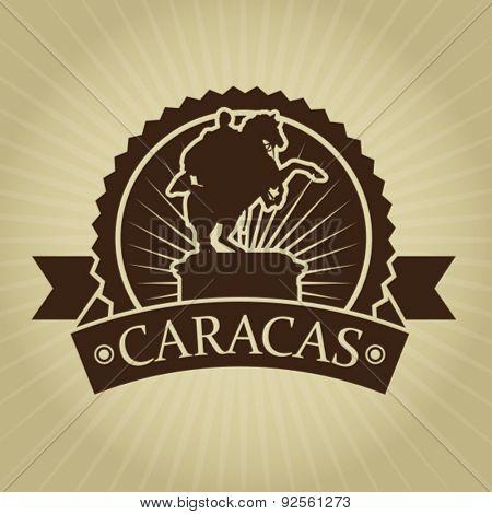 Vintage Retro Caracas Seal