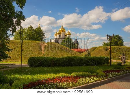 View Dmitrov. Kremlin. Uspensky Cathedral