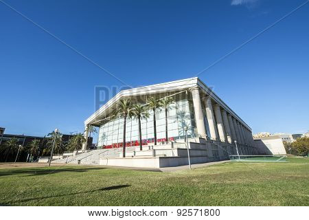 National Theatre Of Catalonia, Barcelona, Spain