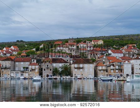 Stari Grad on the island Hvar in Croatia