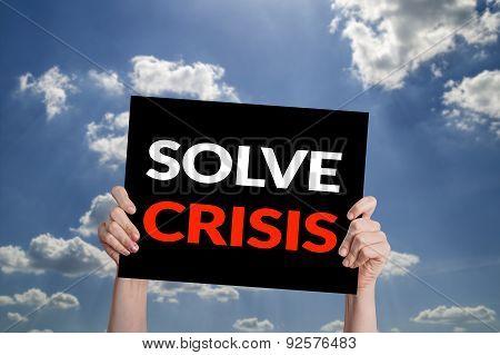 Solve Crisis Card