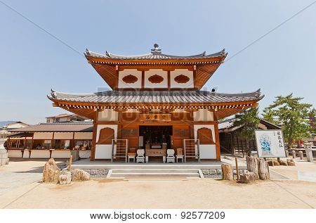 Gomado Hall Of Daiganji Temple, Itsukushima Island, Japan
