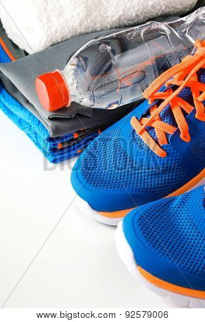 Fitness Accessories With Running Shoes