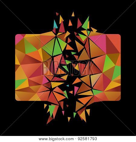 Exploding Polygonal Card