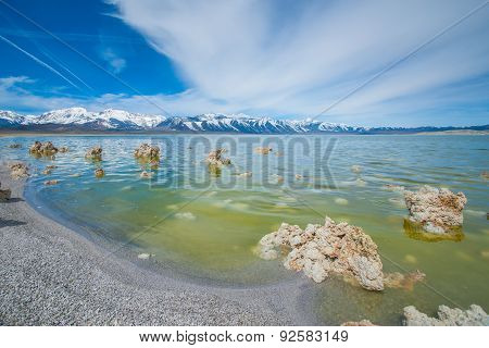 Shoreline Of Mono Lake California