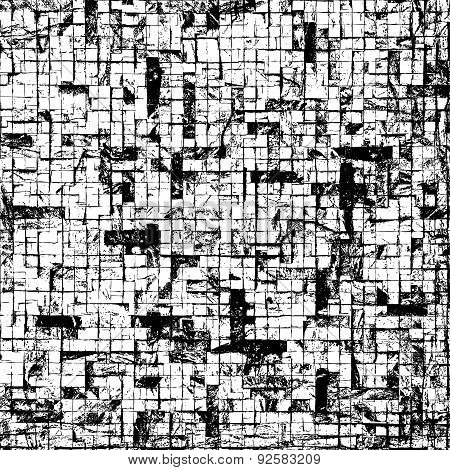 Mosaic Brick Texture
