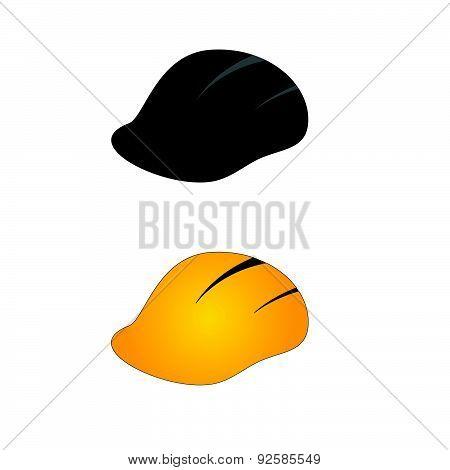 Construction Tin Hat Vector