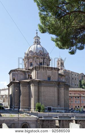 Saint Agnese in Agone in Piazza Navona Rome Italy