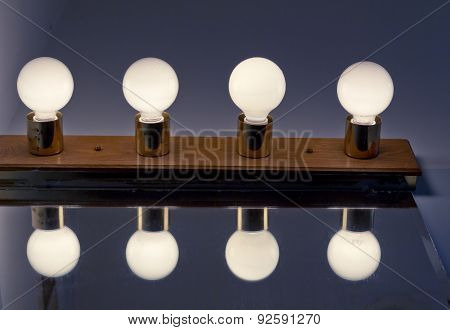 Lightbulbs Bathroom