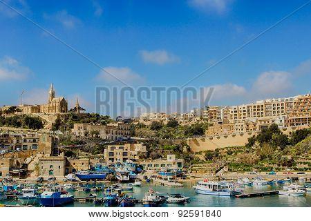 Harbor In Gozo