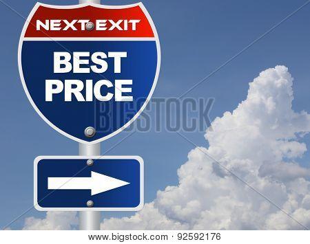 Best price road sign