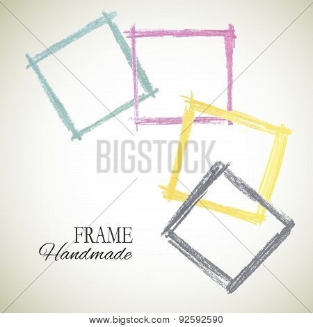 Vector Colorful Set Of Frame
