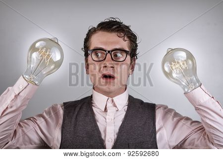 Lightbulb Hands