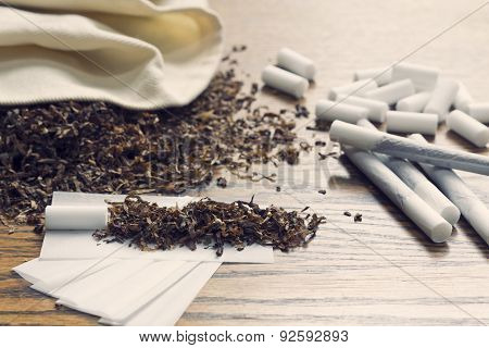 Rolling Cigarettes