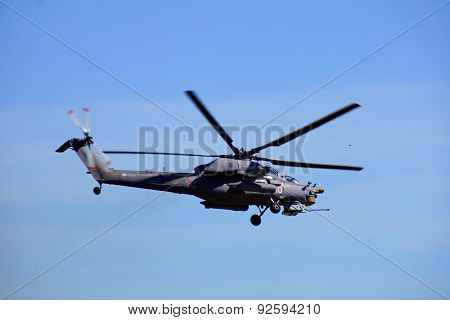 Russian helicopter Mi-28N