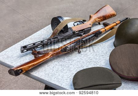 Samples Of Firearms During The Great Patriotic War