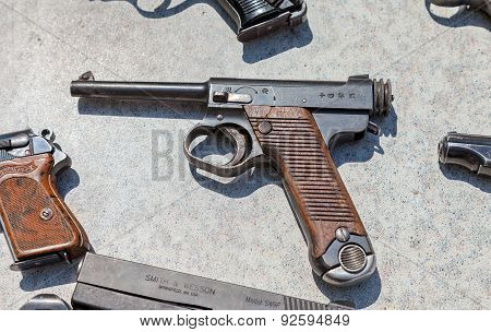 Type 14 Nambu Ww2 Imperial Japanese Army 8Mm Pistol