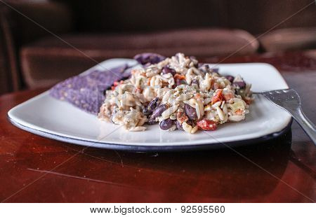 Orzo Black Bean Salad