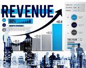 picture of revenue  - Revenue Profit Income Finance Money Concept - JPG