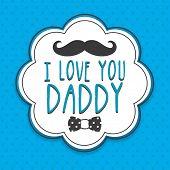 foto of daddy  - Stylish sticker - JPG
