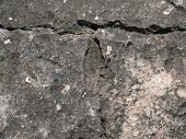 picture of granite  - A granite rock with different stone structures in itself - JPG