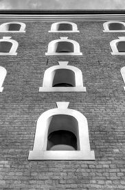 picture of tenement  - Gothic tenement house in Torun - JPG