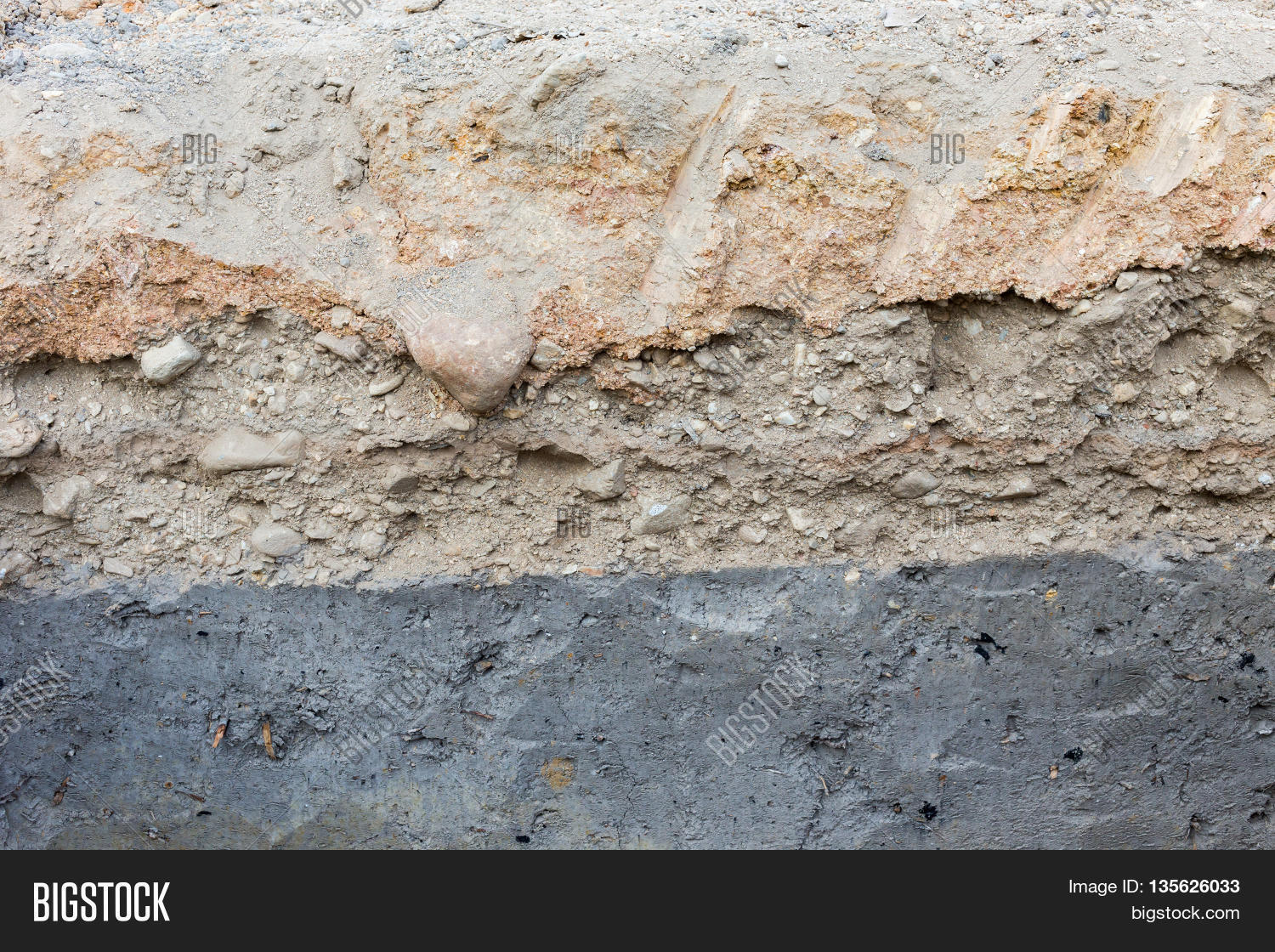 Soil layers in underground earth of science environment for Earth soil layers