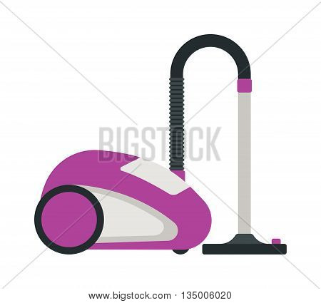 Professional cleaning equipment isolated on white background. Vector cleaning equipment tool and service cleaning equipment housework tools. House product chemical washing tool