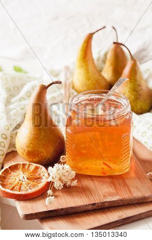 Pear And Orange Jam