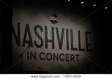 NEW YORK-APR 30: General view during the 'Nashville' Tour at The Beacon Theatre on April 30, 2015 in New York City.