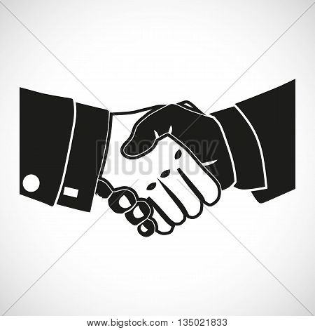 Illustration Icon Vector Set Shake Hands for the creative use in graphic design