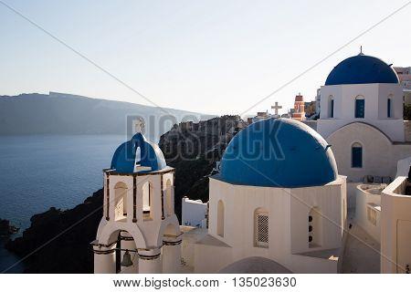 Oia At Santorini