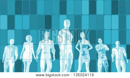 Empowered Business Solutions with Correct Timing of Success 3D Illustration
