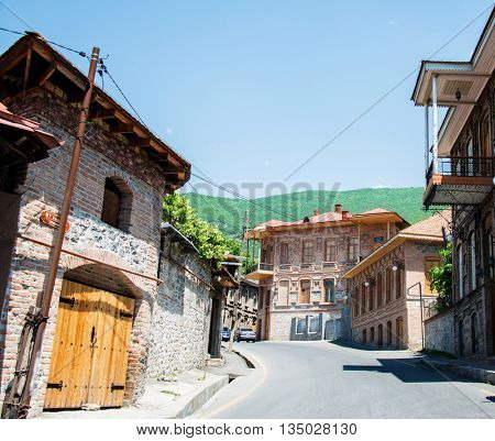 City of Sheki in Azerbaijan