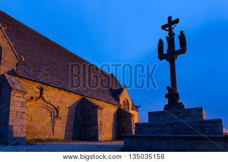 Calvary and chapel