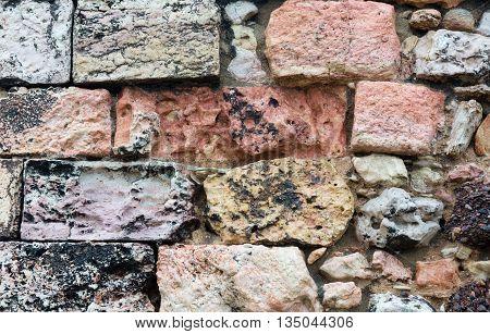 Stony Wall Background.