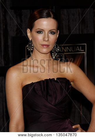 Kate Beckinsale at the VH1's 14th Annual Critics' Choice Awards held at the Santa Monica Civic Auditorium in Santa Monica, USA on January 8, 2009.