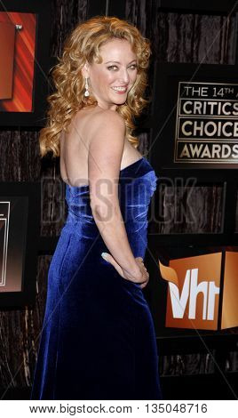 Virginia Madsen at the VH1's 14th Annual Critics' Choice Awards held at the Santa Monica Civic Auditorium in Santa Monica, USA on January 8, 2009.
